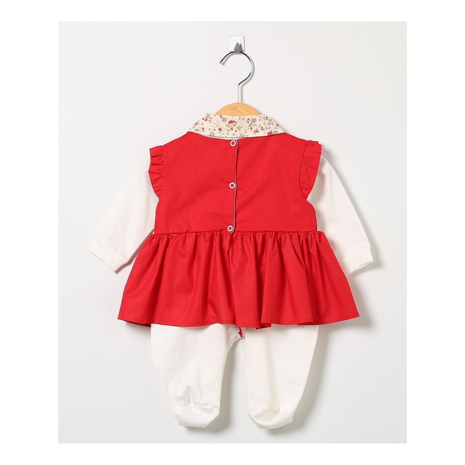 Kit Saída Maternidade Vermelha Princesa 4 Peças 6b181ba4ce6