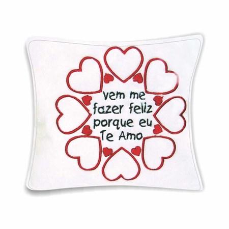 ALMOFADA FAZER FELIZ