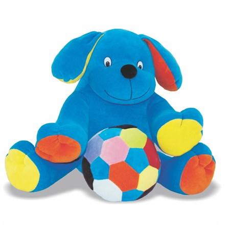 Pelúcia Cão Educativo com Bola