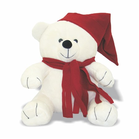 Pelúcia Urso Cachecol