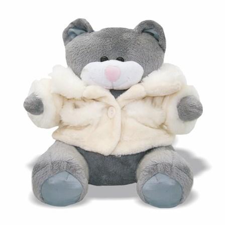 Pelúcia Urso Soft Com Casaco
