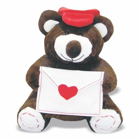 Pelúcia Urso Love Carteiro