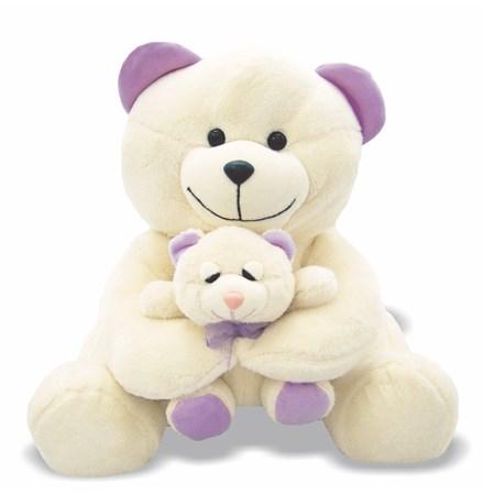 Pelúcia Ursa com Filhote
