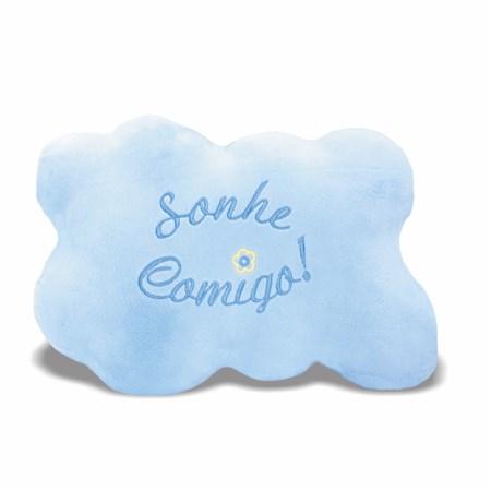 Pelúcia Almofada Nuvem Azul