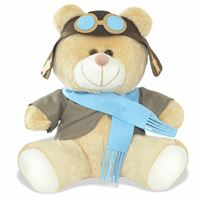 Urso Pelúcia Aviador - M