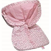 Porta Bebê Estampado Rosa