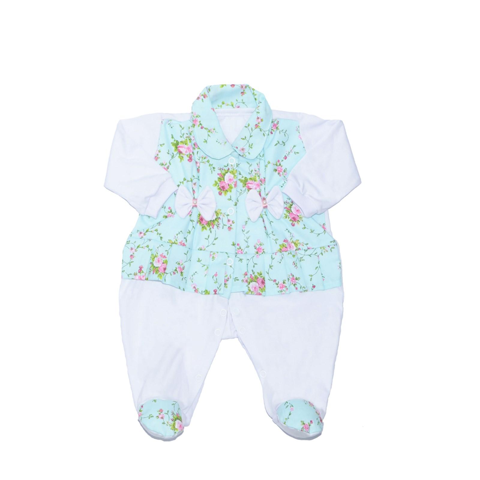 4fc9f35285 Macacão Manga Longa Bebê Menina Sofia Branco - P