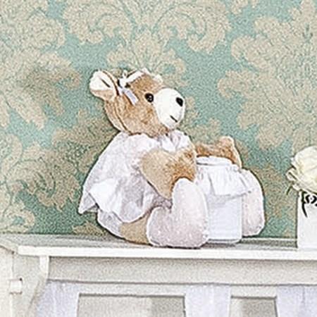 Urso Porta Cotonete Clean