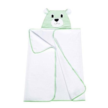 Toalha com Capuz Urso Verde HB