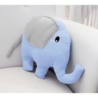 Almofada Decorativa Elefante Azul