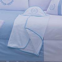 Toalha com Capuz - Realeza Azul LB