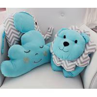Kit de Almofadas Decorativas Azul Tiffany