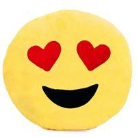 Almofada Emoji Whatsapp Emoticon - Love