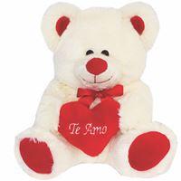 Pelúcia - Urso Théo com coração