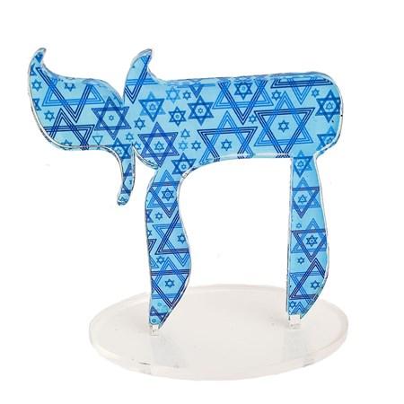 Escultura acrílico Chai