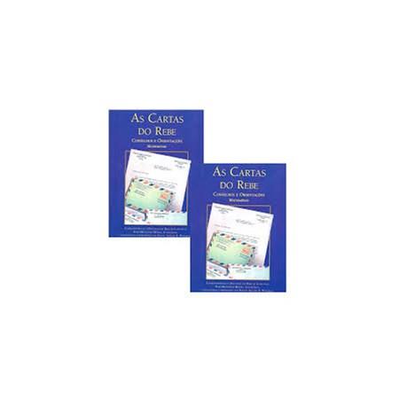 As Cartas do Rebe - Matrimônio 1 e 2 (capa azul)