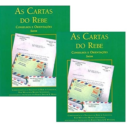 As Cartas do Rebe - Saúde 1 e 2 (capa verde)
