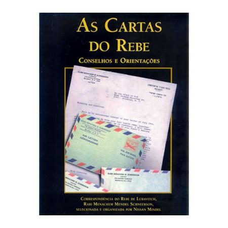 As Cartas do Rebe - Conselhos e Orientações (vol. 1) Capa Preta