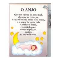 Bênção Hamalach em português e hebraico (menina)