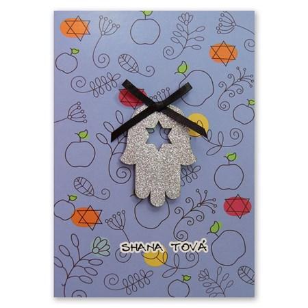 Cartão Shaná Tová - Hamsa
