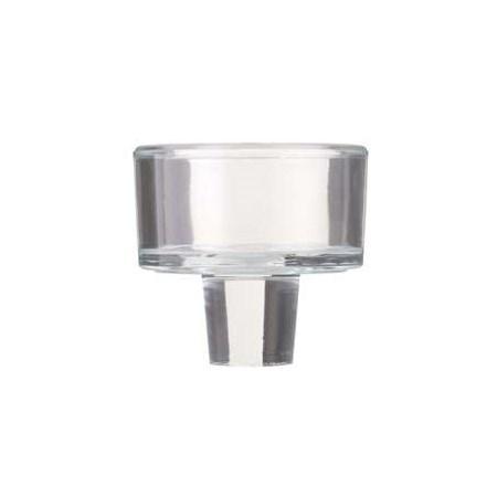 Suporte de vidro para lamparina