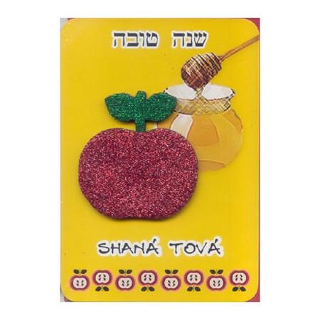 Cartão Shaná Tová - Maçã e Mel
