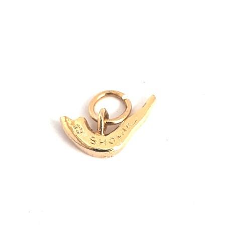 Pingente shofar - Dourado