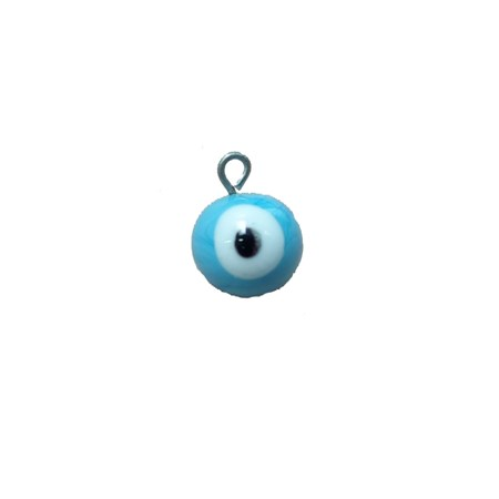 Pingente Olho grego - Azul Claro