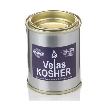 Velas Kosher 24 horas na lata