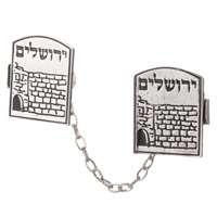 Prendedor de Talit Muro das Lamentações - Jerusalém