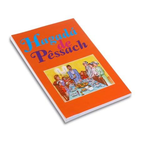 Hagadá de Pêssach (com Tradução e Transliteração) - 1 unidade