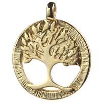 Pingente dourado Árvore da vida