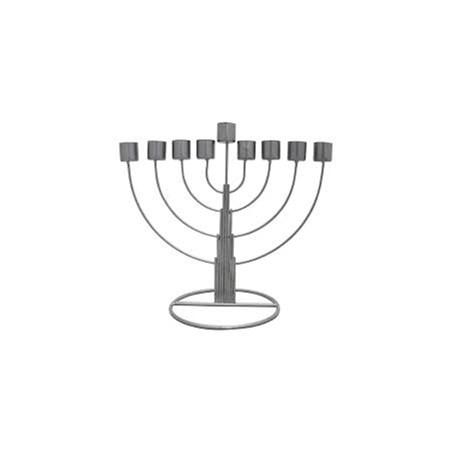 Chanukiá  Chabad  latão