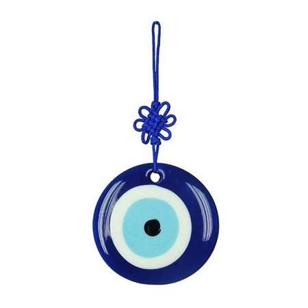 Olho grego de vidro - Tamanho 10 cm. de diâmetro