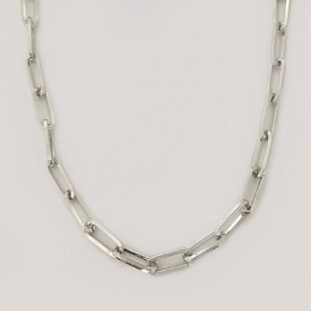 Corrente de Prata Cartier - Grossa Tam. 60cm