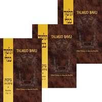Talmud Bavli - Berachot Completo (3 volumes)