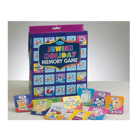 Jewish Holiday memory game