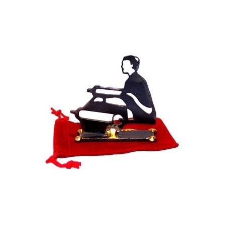 Escultura vazada Bar-Mitsvá