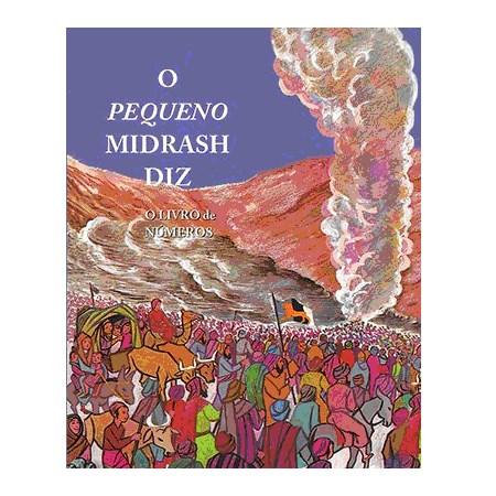 O Pequeno Midrash Diz (4) - Números  (capa dura)