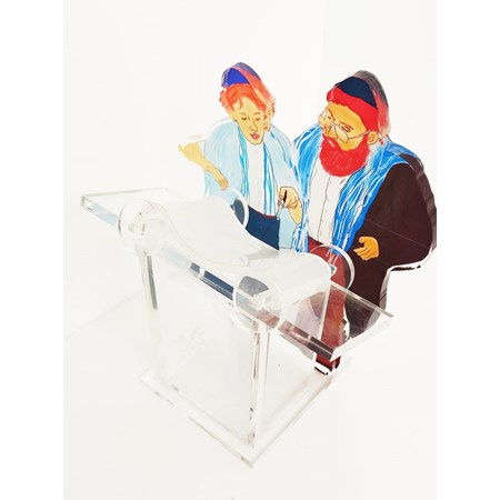 Escultura de Acrílico para Bar Mitzvah