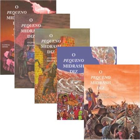 Coleção O Pequeno Midrash Diz (5 volumes) Capa dura