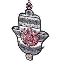 Hamsa de metal colorida (Dorit Judaica)