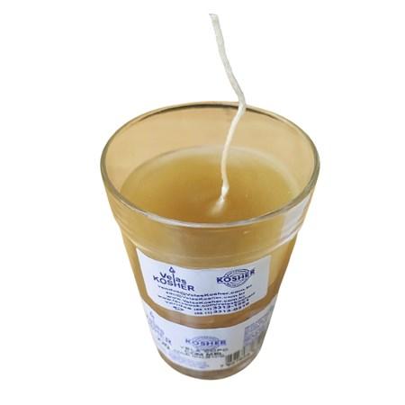 Vela de mel de 24 horas no copo