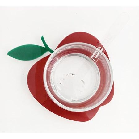 Meleira acrilico e vidro