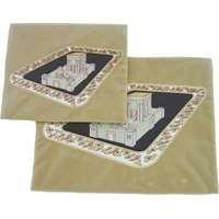 Conjunto capas de talit e tefilin de veludo Templo