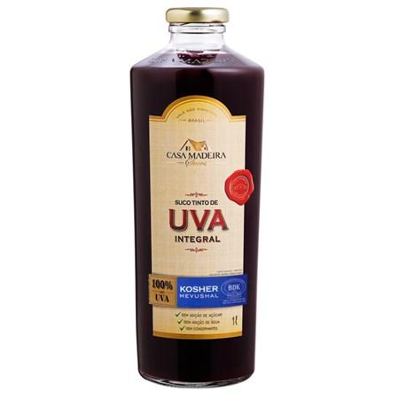 Suco de Uva Integral Kosher (1L) - Caixa com 6 garrafas