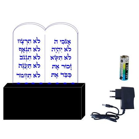 Luminária 10 mandamentos