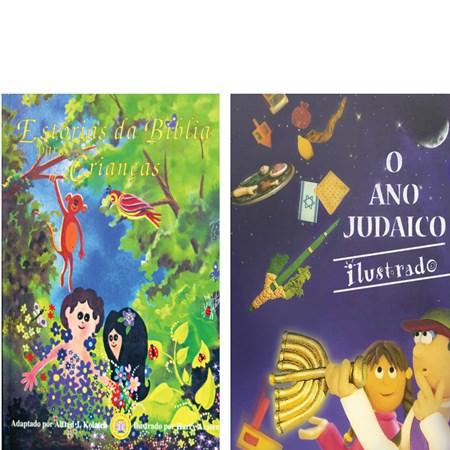 Par Infantojuvenil (O Ano Judaico Ilustrado e Estórias da Bíblia para Crianças)