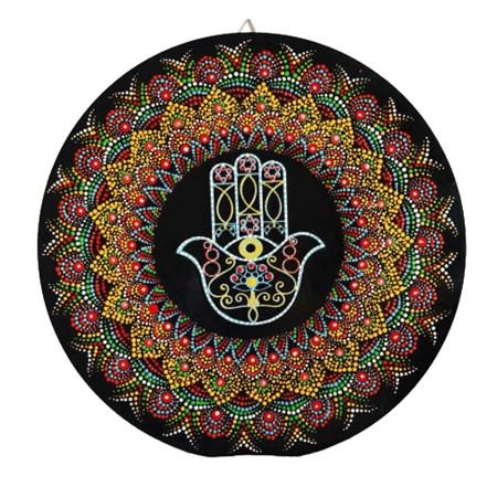 Mandala colorida média