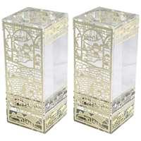 Castiçal de vidro Jerusalém